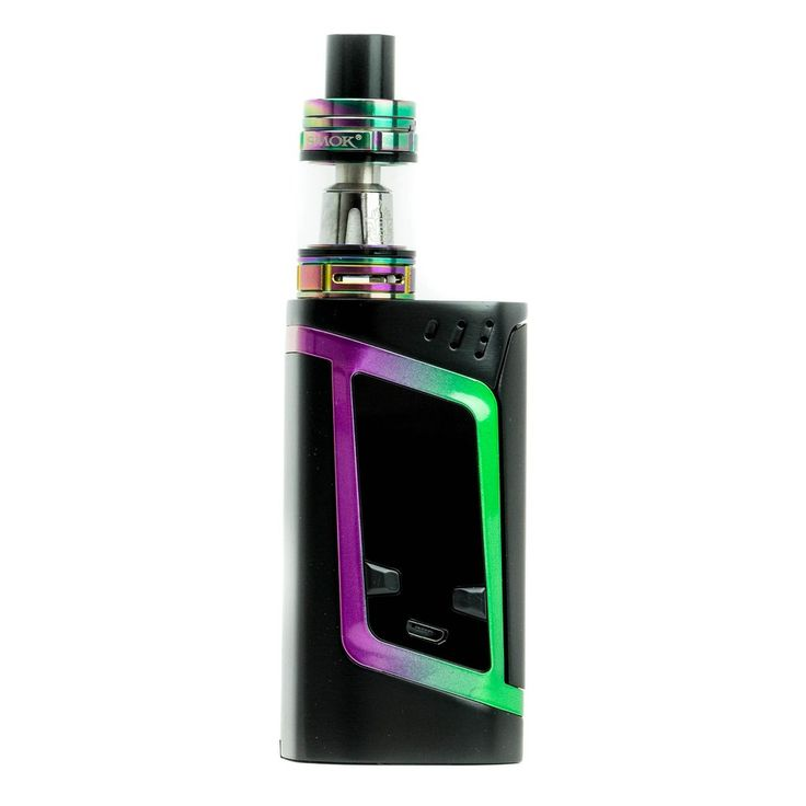 Smok Alien 220W Mod Kit with TFV8 Baby Beast Tank Black and Rainbow