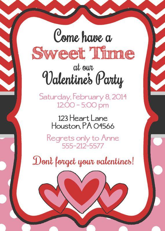 valentines invite