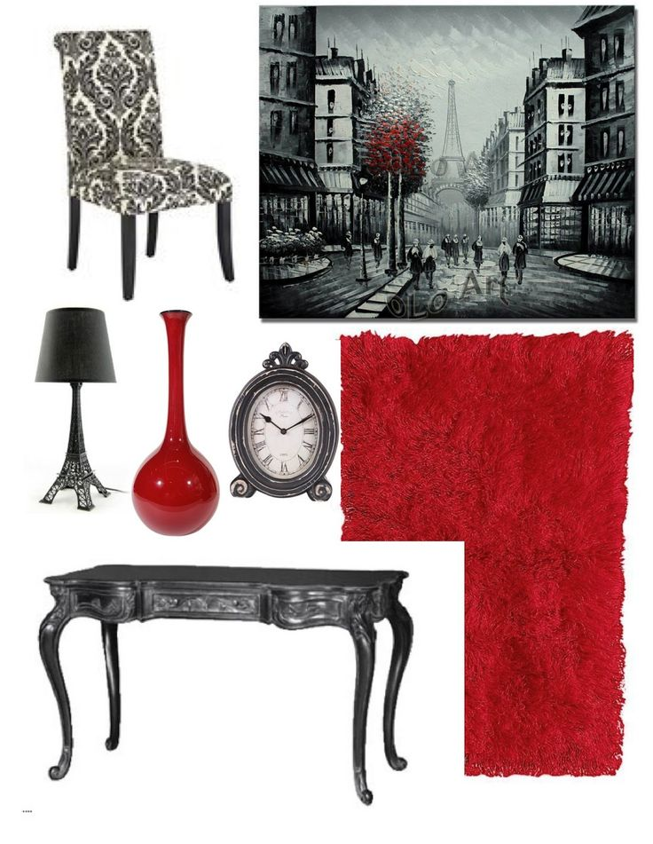 Paris Inspired: Home Office Decor