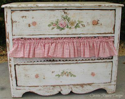 Farmgirl Fancy dresser ~ C.Repasy...♥♥♥