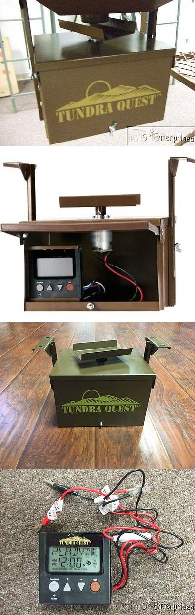 Game Feeders and Feed 52504: Universal Replacement Digital Deer Turkey Hunting Feeder Timer Spinner Box Kit BUY IT NOW ONLY: $69.99