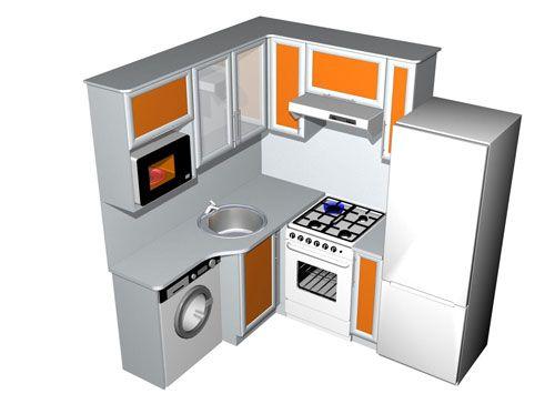 Много идей для маленькой кухни. Квартира студия или коммуналка! и