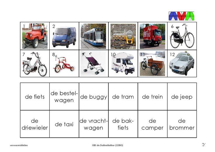 vervoermiddelen 7