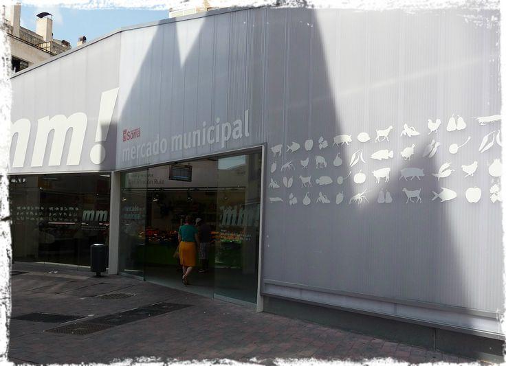 Soria (Spagna). Mercado Municipal.