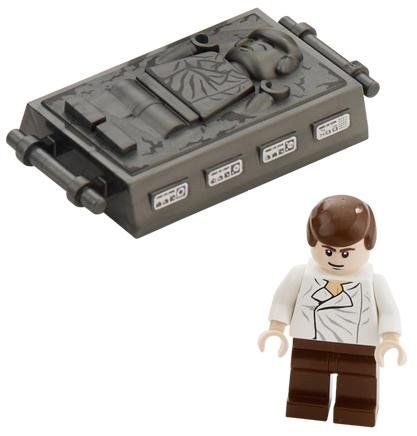 Best Star Wars Images On Pinterest Lego Star Wars Clone - 25 2 lego star wars minifigures han solo han in carbonite blaster