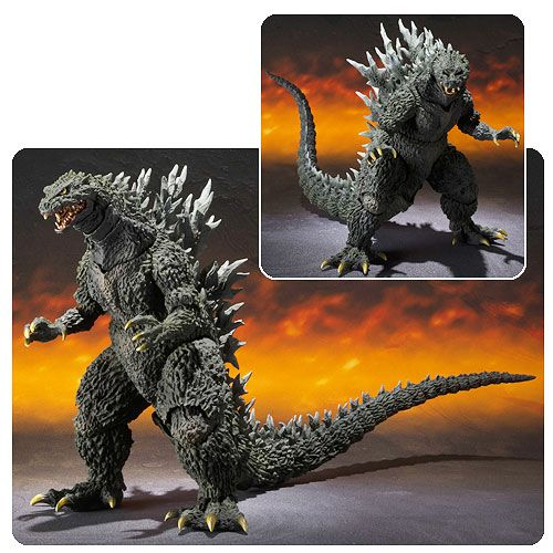 Your toy collection needs a true beast. Something that can stomp its way through cities and cause Earthquakes. Like Godzilla! This Godzilla 2000 Millennium Special Color Edition SH MonsterArts Action Figure is exactly what you need. This is Godzilla from the Godzilla 2000 film. He features sp