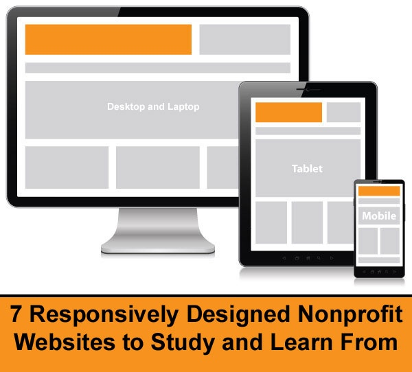 7 Responsively Designed Nonprofit Websites to Study and Learn From