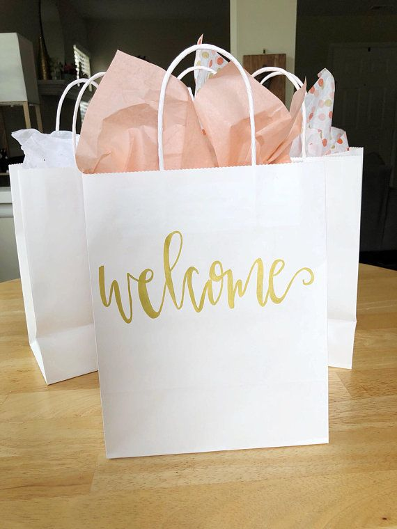 Wedding Welcome Bags Gift Bag Guest Hotel Ba
