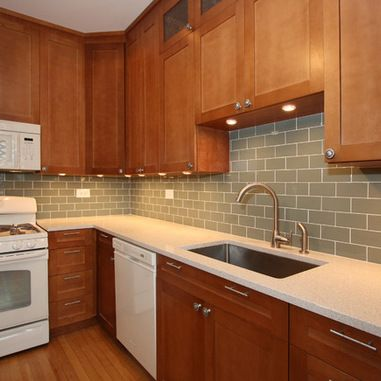 1000 Ideas About Cherry Wood Kitchens On Pinterest Cherry Cabinets, Kitchen Photos And Dark photo - 8