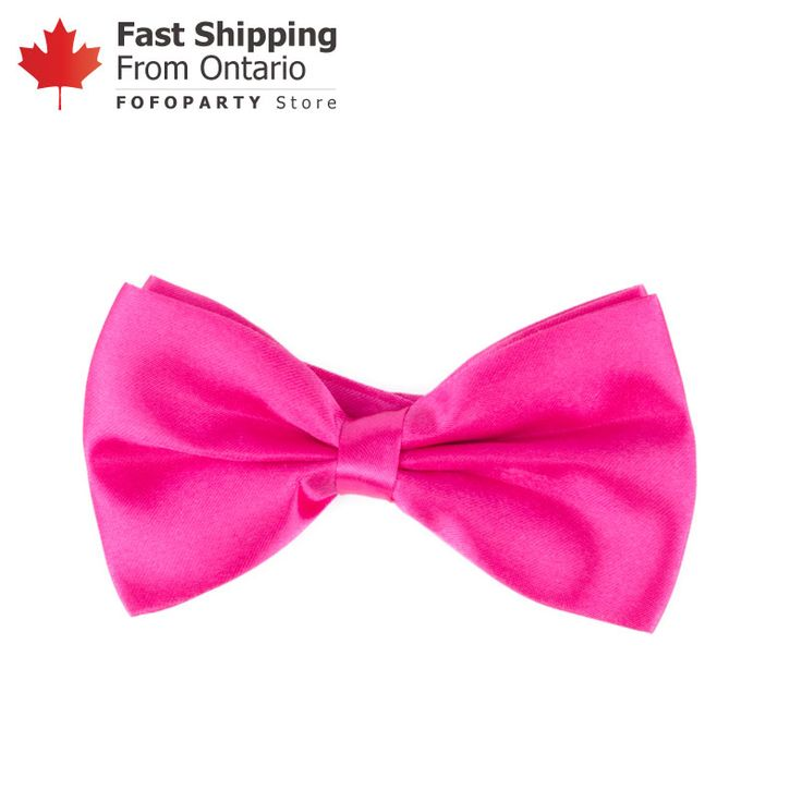 You will look fine and dandy at the party with the Pink Bow Tie! It has an attached elastic that makes it easy to slip under the shirt collar. A fancy andfun accessory forcostume party! One Size fits All.