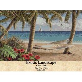 Gobelin Tapestry Kit Exotic Landscape