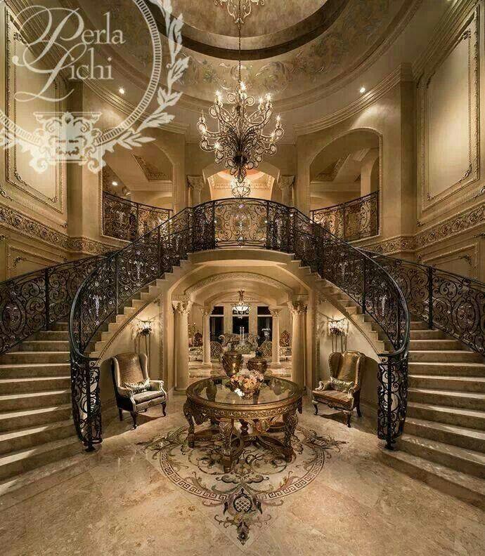 Grand Foyer Staircase: Best 25+ Grand Entrance Ideas On Pinterest