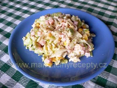 Rýžový se salámem