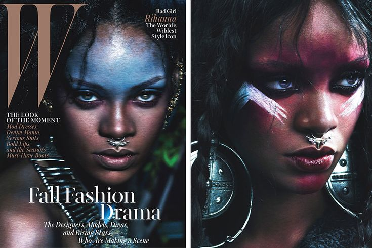 Rihanna featured in 'W' Magazine shot by Mert & Marcus
