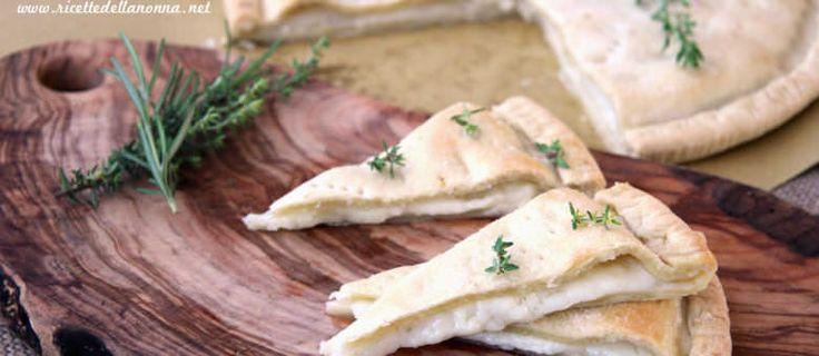 Ricetta focaccia al formaggio di Recco