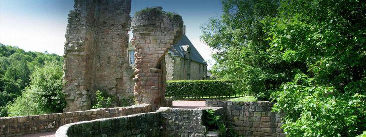 Rosslyn Castle, Roslin, near Edinburgh