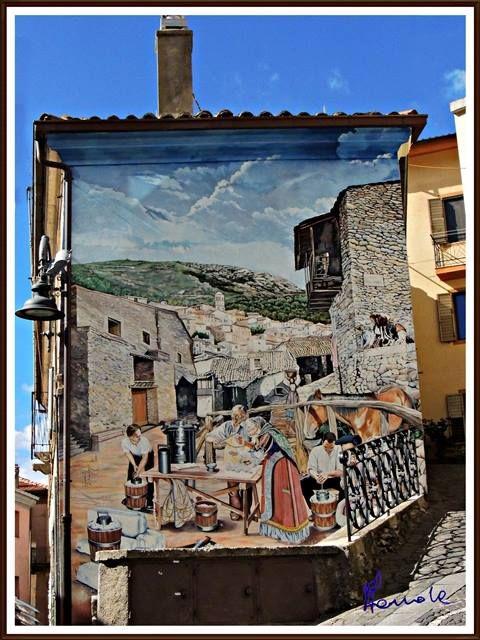Murales di Sardegna: Aritzo