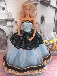 Barbie Gown In Light Blue
