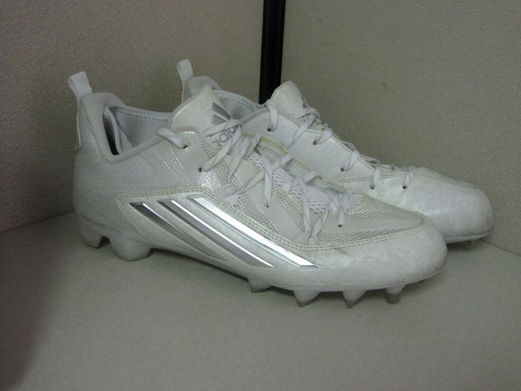 Adidas mens crazyquick 20 football cleats white size 12