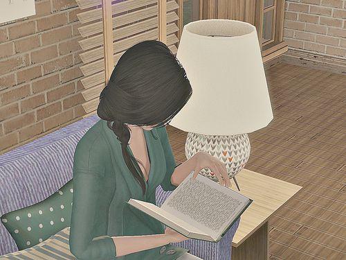 book reading illustration