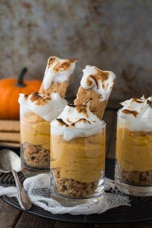 Pumpkin Pie Cheesecake Shooters | Cheesecake Shooters, Pumpkin Pie ...