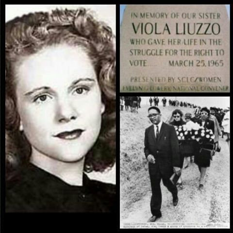 A strong women who fought for the rights of others, murdered by the KKK for this very reason. Her death helped with the passing of the 1965 Voting Rights Act.