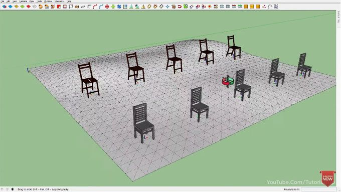 In This Sketchup Tutorial Video You Will Learn How To Use Axes