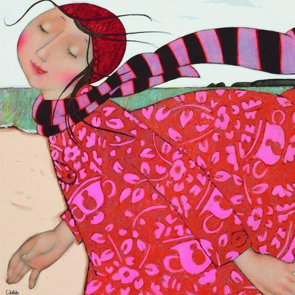 Pinzellades al món: Céline Veilhan il·lustra totes les vessants de la feminitat