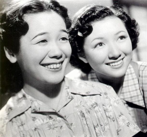 高峰秀子 (Takamine Hideko) + 笠置シヅ子 (Kasagi Shizuko)