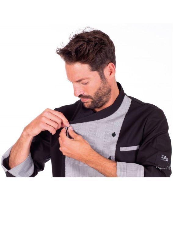 Chaqueta Gastrochef Cronos.  33,90€    La mejor relación calidad-precio en chaquetas de cocina en www.tiempolaboral.com