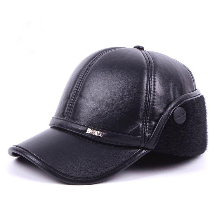 $4.68 (Buy here: https://alitems.com/g/1e8d114494ebda23ff8b16525dc3e8/?i=5&ulp=https%3A%2F%2Fwww.aliexpress.com%2Fitem%2FHigh-Quality-Winter-Hat-For-Men-Fur-Baseball-Caps-Thicken-Warm-Solid-Caps-For-Men-Pu%2F32743530429.html ) High Quality Winter Hat For Men Fur Baseball Caps Thicken Warm Solid Caps For Men Pu Leather Winter Snapback Cap Ear Flaps for just $4.68