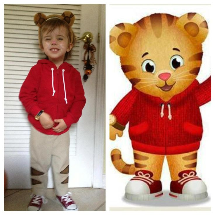 Daniel tiger Halloween costume- Pretty sure Alton's Halloween Costume
