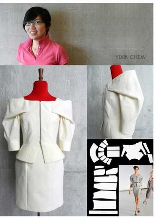 INNOVATIVE PATTERN CUTTING FOR GRADUATES + PROFESSIONAL 2012