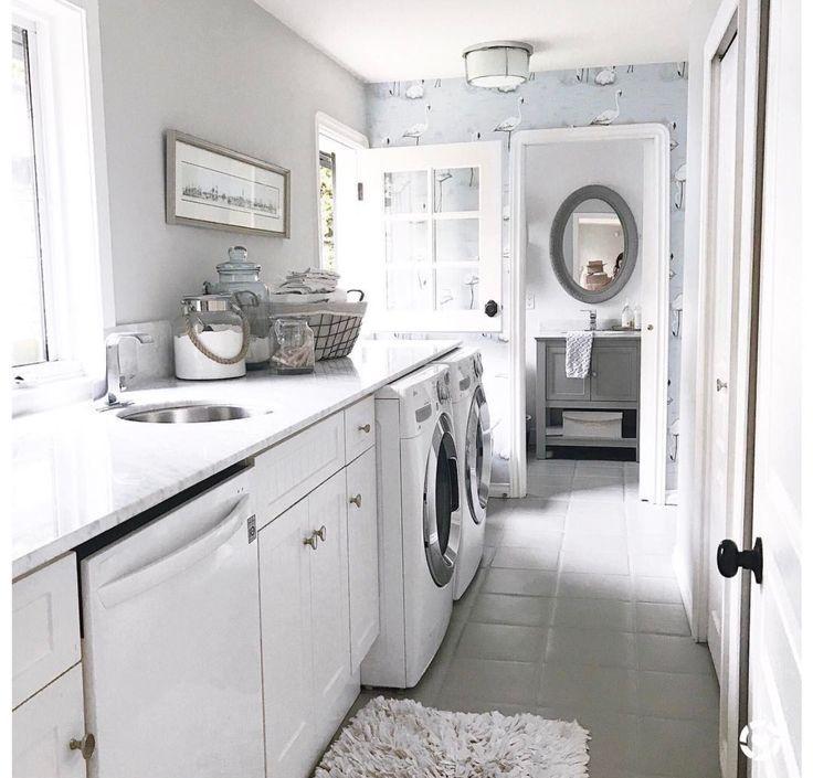 Jillian Harris laundry room