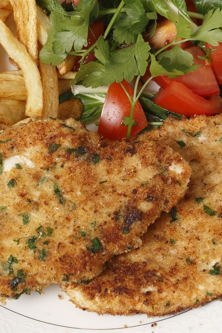 Healthy crumbed chicken breast recipes