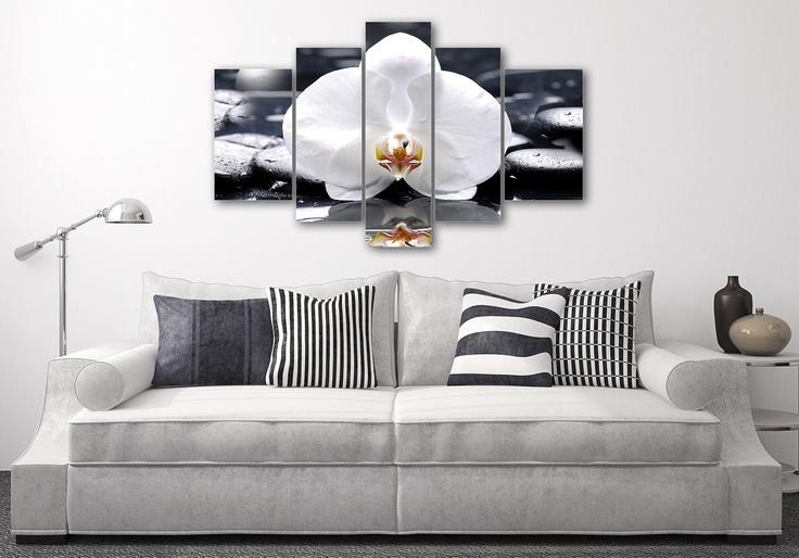 Una composizione originale con Orchidea Bianca!