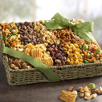 Office Nut Gift Basket. See more at www.pro-gift-baskets.com!
