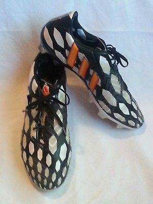 Adidas Mens Boys Football Soccer Boots Predator Instinct 2014 Cup Black Sz Us 7