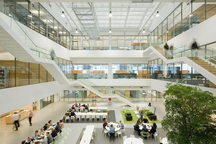 Image 1 of 36 from gallery of GustoMSC Schiedam  / JHK Architecten. Photograph by Marcel van der Burg