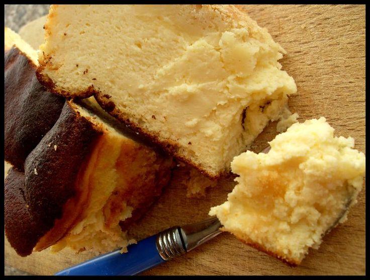 Le sernik ( gâteau au fromage blanc polonais )