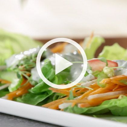 3 Dressings and Salads: Ranch, Citrus and Cilantro Soy Dressing (That's Fresh with Helen Cavallo)