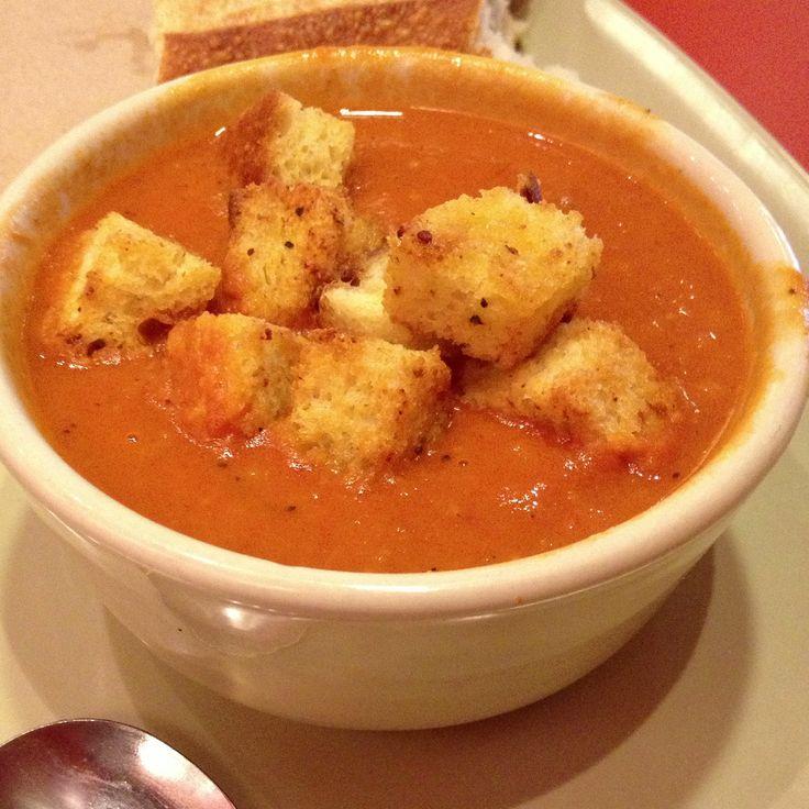 Panera Bread(tm) Tomato Soup Copycat Recipe |(Veganize)
