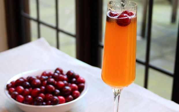 Cranberry and Clementine Fizz Recipe by Jun Tanaka
