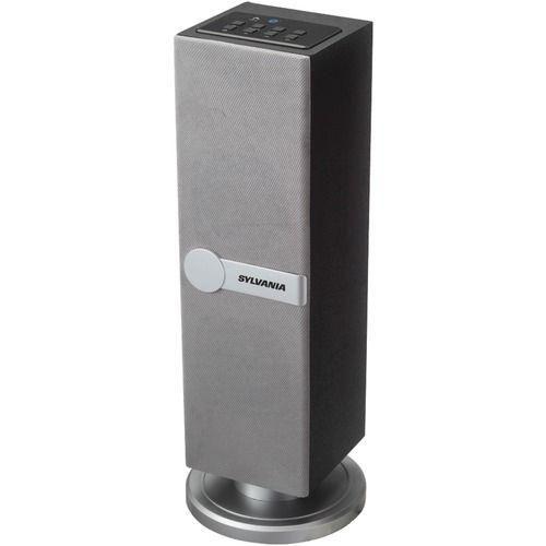 Sylvania Bluetooth Mini Tower Speaker (silver)