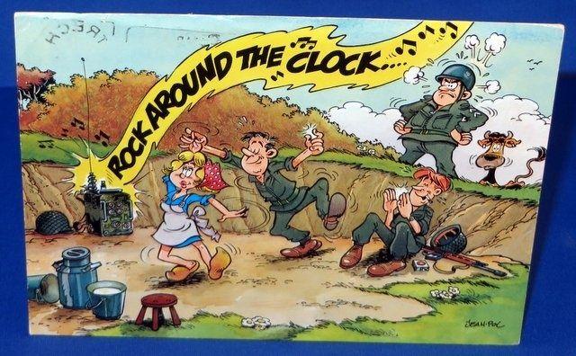 Militaire humor, Legerkaart 2201051
