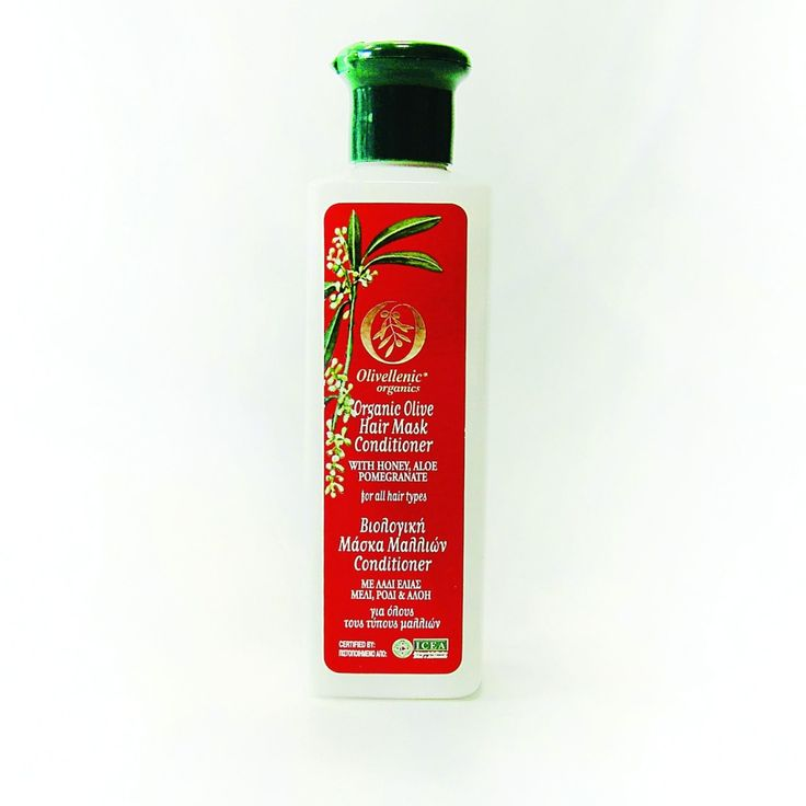 Hair Mask-Conditioner With Honey, Aloe And Pomegranate – Olivellenic Organics