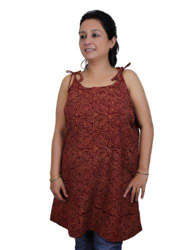 Spaghetti Strap Tank Tops for Women in Block Print Handloom Woven Cotton (L/38) ShalinIndia http://www.amazon.in/dp/B00LGQSP40/ref=cm_sw_r_pi_dp_7b10tb0JDZHYMRJK