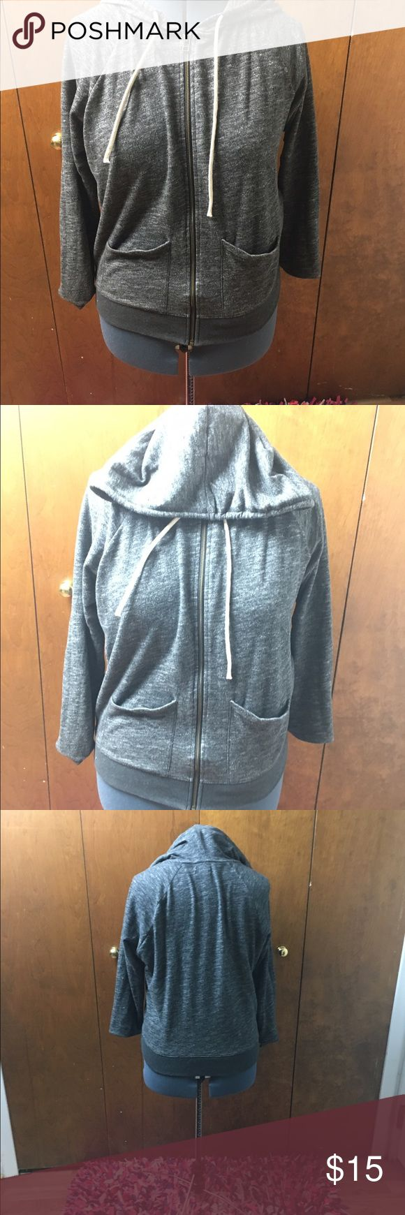 Gray Old Navy Hoodie Size Large Gray Old Navy Hoodie Size Large Tops Sweatshirts & Hoodies