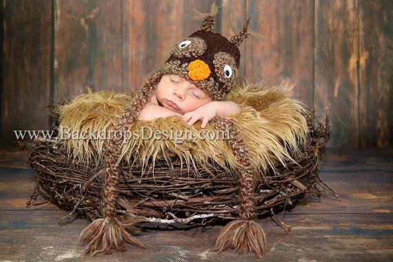 Orden de encargo de nido de pájaro para Laura J.  Apoyo de foto infantil recién nacido fotografía Prop