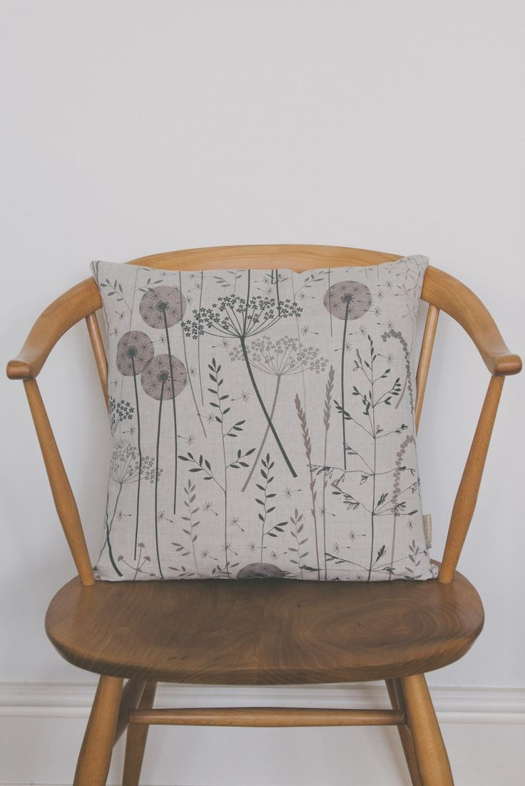 Hannah Nunn Paper Meadow Cushion Make A Home
